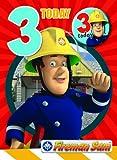 Fireman Sam FS003 Age 3 Birthday Card