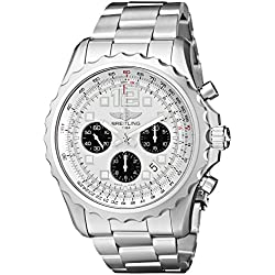 Breitling A2336035-G718SS - Reloj de pulsera hombre, acero inoxidable, color plateado