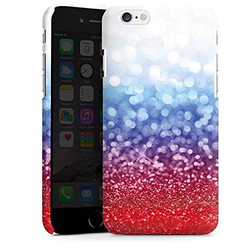 Apple iPhone X Silikon Hülle Case Schutzhülle Russian Glitter Glitzer Fahne Premium Case matt
