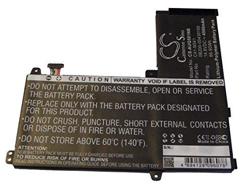 Batterie Li-Polymer vhbw 4500mAh (14.8V) pour Netbook Tablette Asus Q501LA-BBI5T03, Q501LA-BSI5T19. Remplace: 0B200-00430100, C41-N541.