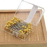 Craft Professional, spilli decorativi fai da te per abbellire abiti con scatola di perle, attrezzi da cucito (oro)