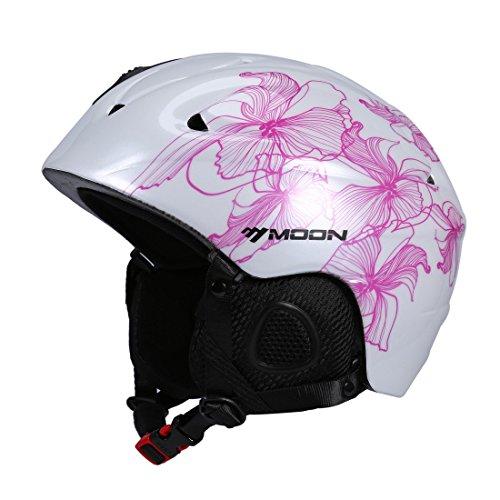 casco sci donna  Maxmer Casco Sci da Adulto per Uomo e per Donna Taglia Regolabile ...