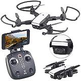 Simulus Drohne: Faltbarer GPS-Quadrocopter mit HD-Kamera, Follow-me-Funktion und App (Quadkopter)