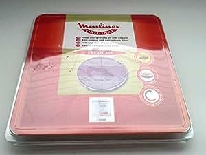 Moulinex AAD601 Accessoire Friteuse Cartouche Filtrante ronde Clean Air