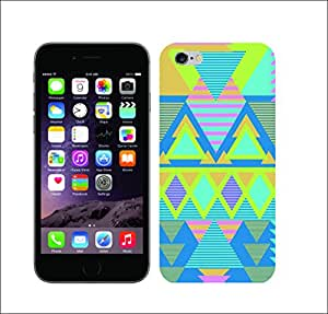 Galaxy Printed 1490 Candy Tribal Hard Cover for Apple Iphone 6 plus