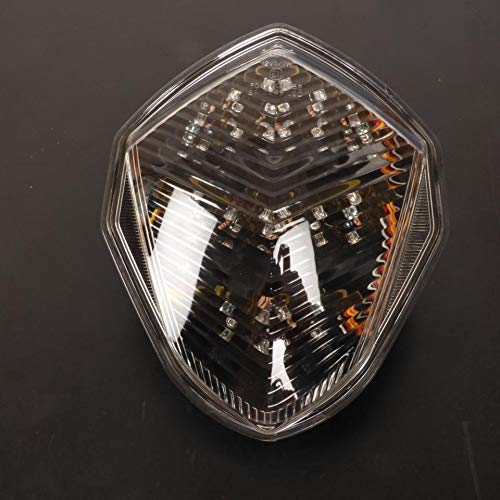 Feu Stop Led Clignotants Int/égr/és Suzuki GSXR1000 K3 K4 2003//2004 Transparent