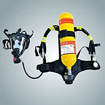 SHM Aether Self Contained Breathing Apparatus (SCBA- 6/30) Solas Approved, Wheel Marked