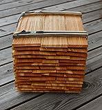 Lärchenholzschindeln 30cm 2. Qualität, Bundinhalt 9 Breitenmeter