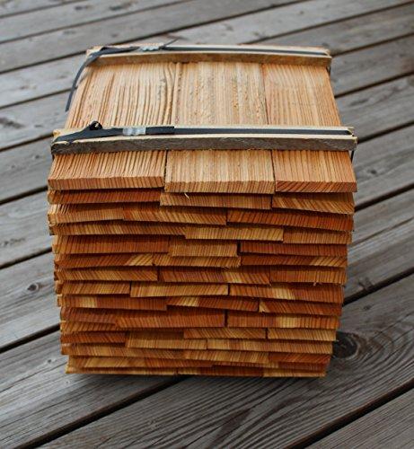 Holzschindeln 25cm 2. Qualität, 9 Breitenmeter