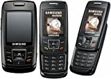 Samsung SGH-E250 Handy (VGA-Kamera, Bluetooth, uTrack) Ebony Black