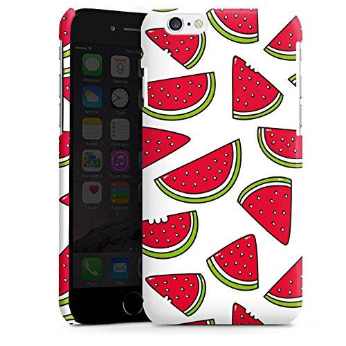 Apple iPhone 4 Housse Étui Silicone Coque Protection Melon Été Nourriture Cas Premium brillant