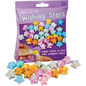 faltsterne aus papier make your own wishing stars spielzeug. Black Bedroom Furniture Sets. Home Design Ideas