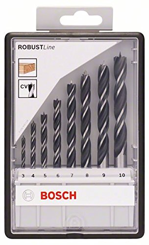 Bosch Pro 8tlg. Robust Line Holzspiralbohrer-Set