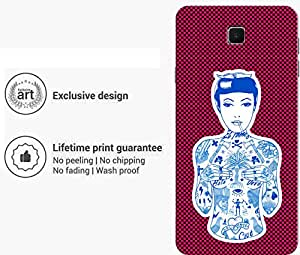 """Humor Gang the bold girl Printed Designer Mobile Back Cover For """"Samsung Galaxy On8"""" (3D, Matte Finish, Premium Quality, Protective Snap On Slim Hard Phone Case, Multi Color)"""
