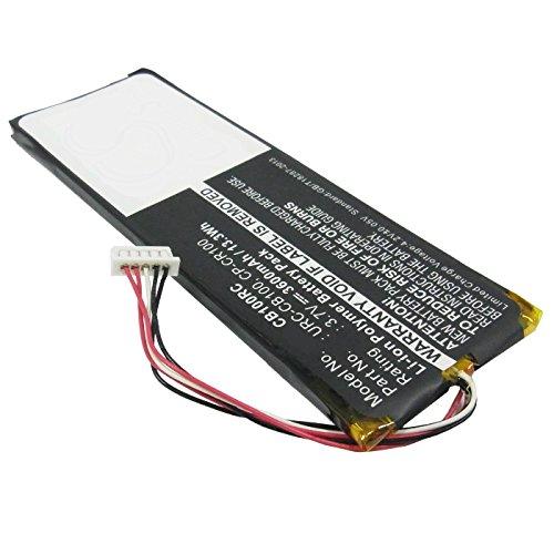 subtel® Batterie Premium Compatible avec Sonos Controller CB100 Sonos Controller CR100 (3600mAh) Sonos CP-CR100, Sonos URC-CB100 Batterie de Rechange, Accu Remplacement