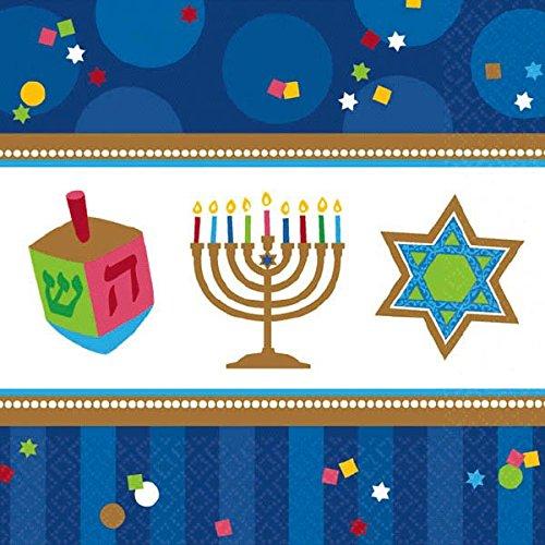 amscam 713803 Hanukka Hanukkah Celeb Lunch Napkin