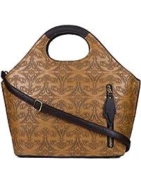 ISweven Women's Stylish Handbag | PU Leather Shoulder Bags For Women | Women's Satchel | Party Wear Handheld Sling... - B07CZL78LK