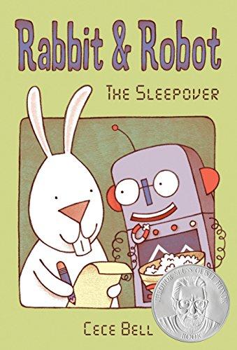 Rabbit & Robot: The Sleepover por Cece Bell