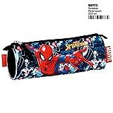 Spiderman Estuche Portatodo, 22 centímetros Montichelvo
