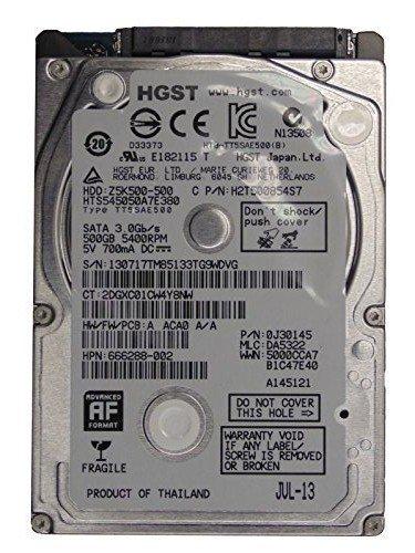 HGST 2.5HDD Disco Duro SATA Thin h2t500854s7683802-001