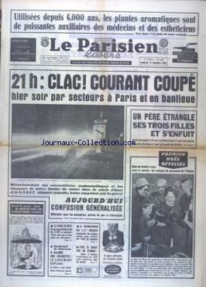 PARISIEN LIBERE (LE) [No 6309] du 11/12/1964