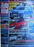 AutoBild 40/13 - Neuer Audi Q1, Alfa jetzt besser als Porsche? Neuer Spar-Kombis im ersten Vergleichtest, Mega-Test 50 Winterreifen für die Golf-Klasse