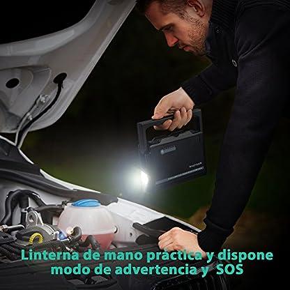 51mlxmyBrNL. SS416  - Jump Starter 18000mAh Arrancador de Coche de 600A Bateria Externa Pack de Emergencia Dual USB, Protección de Seguridad, para Todos Motores Diesel o Gasolina 3L o 6L