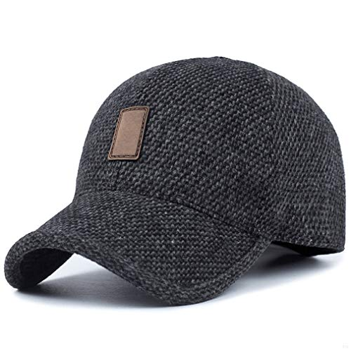 GADIEMENSS Winter Earflap Hat Men Sporting Goods Hats Dad Fashion Berets  Dem Skullies Run Cap Hats 58d8f027b34e
