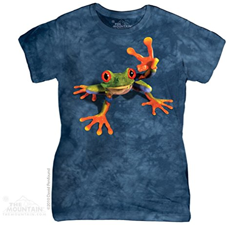 the-mountain-victory-frog-t-shirt-frosch-peace-girlie