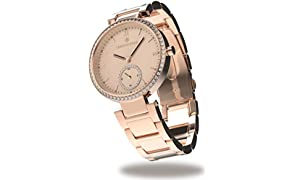 Timothy Stone COLLECTION ELLE STAINLESS - Orologio da polso donna, colore Oro Rosa