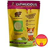 PetSutra Chewlicious Dog Food Treats Chhurpi (Yak Milk Chews), Medium Bars, 140g (Large Pack)