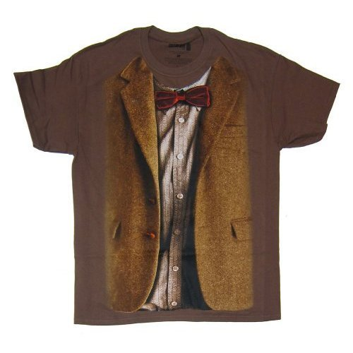 T-Shirt, Durchgehend Gr. XXX-Large, Braun - Braun (Rose Und Jack Kostüme)