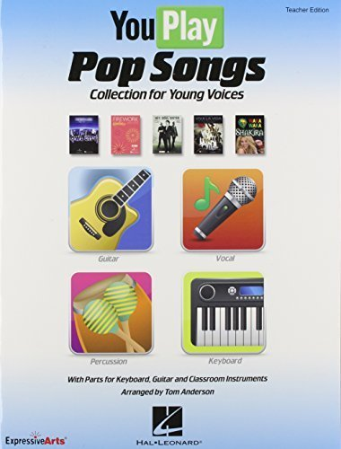 You Play... Pop Songs: Collection for Young Voices (Expressive Art Choral) by Anderson, Tom (2012) Paperback