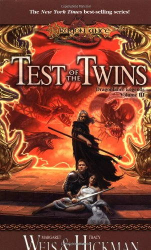 Cover of Test Of The Twins (Dragonlance: Legends 3)
