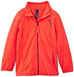 Peak Mountain Fafone/af Sweat micro polaire zippé Fille Corail FR : 5 ans (Taille Fabricant : 5)