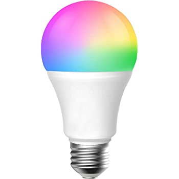 smart light bulb e27 7w wifi smart bulbs 2700k to 6500k dimmable and rgb color changing no hub. Black Bedroom Furniture Sets. Home Design Ideas