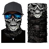 Copricapo bandana multifunzione - Cranio (3 design) (Pirata)