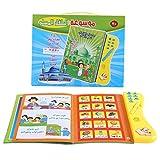 Garosa Kids Learning Book Audible Electronic Arabic Language Books Multifunctional Reading Cognitive Study Toys for Child Development