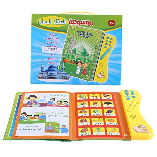 Garosa Livre d'apprentissage pour Les Enfants Audible Electronic Livres en Langue Arabe Lecture multifonctionnelle Étude Cognitive Jouets pour Le développement de l'enfant