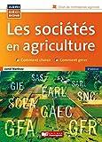 LES SOCIETES EN AGRICULTURE 5ED