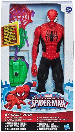 Hasbro Spider-Man - Figura Titan con Equipo Lanza Redes 1