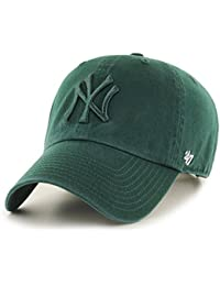 Gorra curva verde de New York Yankees MLB Clean Up de 47 Brand a8220b75efb