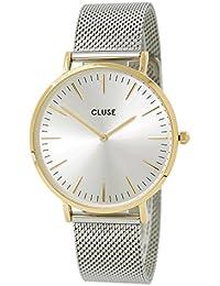 Cluse Reloj Analógico de Cuarzo para Mujer con Correa de Acero Inoxidable – CL18115