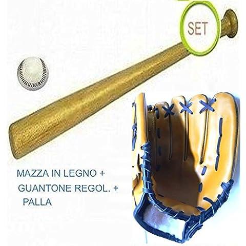 Set da baseball completa di MAZZA, GUANTONE