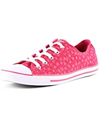 537204C Converse OX COMO Dainty Basic Tex blanco, Converse Schuhe Damen Slim Sizegroup Leiste 7 5/B:41