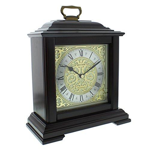 Pendule De Cheminee Luxe Rectangulaire Rhythm Carillon De Westminster