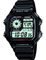 Casio Collection Herren-Armbanduhr Digital Quarz Resin AE-1200WH-1AVEF