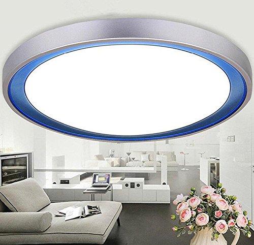 Runde Schlafzimmer führte Deckenlampe moderne einfache und warme Study Zimmer Restaurant Lichter Home Furnishings Lampen , 400mm