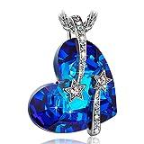Susan Y Collana donna con cristalli da Swarovski blu Gioielli regalo donna compleanno festa della mamma regalo san valentino regalo natale regali per lei amica anniversario madre by Susan Y