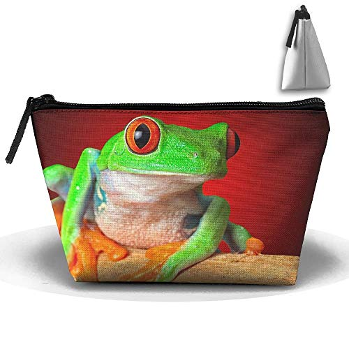 Toiletry Pouch Makeup Travel Cosmetic Bag Green Frog Portable Phone Coin Storage designer makeup bag -
